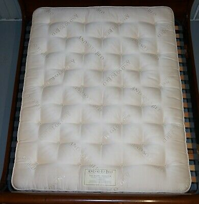And So To Bed Rrp £16685 Ex Shop Display King Size Mattress Cashmere Silk Mohair