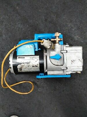 Spx Robinair Cooltech Two Stage High Performance Vacuum Pump 1/2 Hp