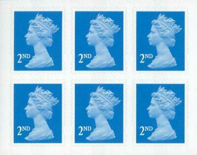 2ND Second CLASS STAMPS Brand New UK. Royal Mail Postage packs choice Qtys: