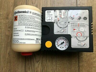 Bramd New BMW Continental ContiMobility puncture repair compressor and Sealant