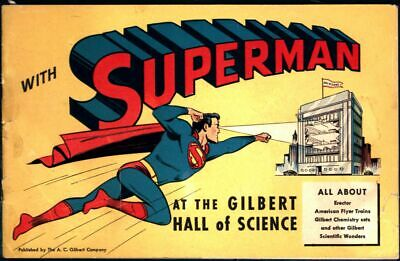Superman at the Gilbert Hall of Science nn 1948