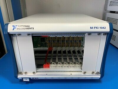 National Instruments NI PXI-1042 Chassis, 8-slot 3U PXI Mainframe
