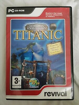 Hidden Expedition Titanic Hidden Object Pc Cd Free Post To Uk 2 35 Picclick Uk