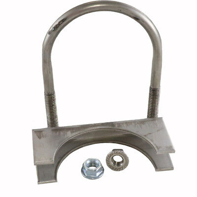 """Corvette Exhaust Clamp Stainless Steel 3"""" 25-108492-1"""