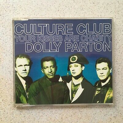 CULTURE CLUB + DOLLY PARTON ~ Your Kisses Are Charity ~ 3 TRACK CD SINGLE