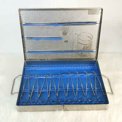 Surgical Scissors Set In Autoclave Tray