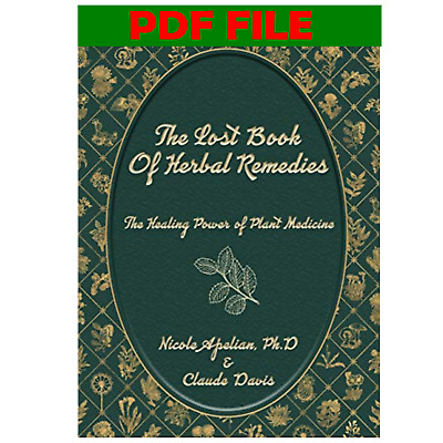 The Lost Book of  Herbal Remedies by Claude Davis