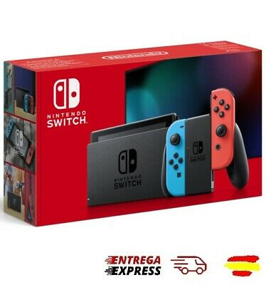 Nintendo Switch V2 Neon Blue/Red 2019