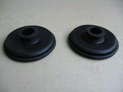 Daimler Conquest DHC Roadster Metal Floor Brake & Gear Pedal Bellows Grommets 2