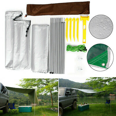 E9C0 Car Vehicle Waterproof Tent Canopy Canvas Cover Sun Protection Anti-Aging D