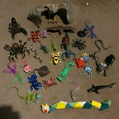 Bundle Of Random Farm/Zoo/Safari/ Wildlife Toy Animals!