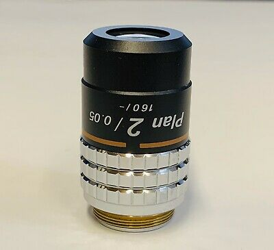 Nikon CFN Plan 2X/0.05 Microscope Objective Macro Labophot Optiphot  Photography