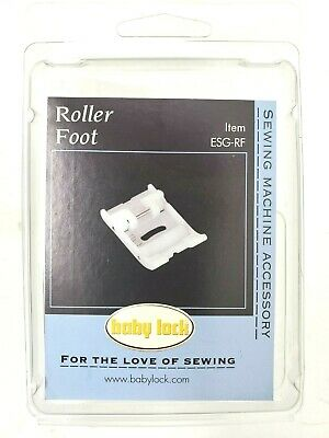 Roller Leather Vinyl Synthetic Fabric Foot For Singer Sewing H1E1 Machine M4O5