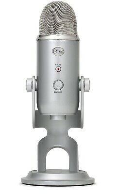 Blue Yeti 3 Capsule USB Microphone Silver Prefect for Voice Over