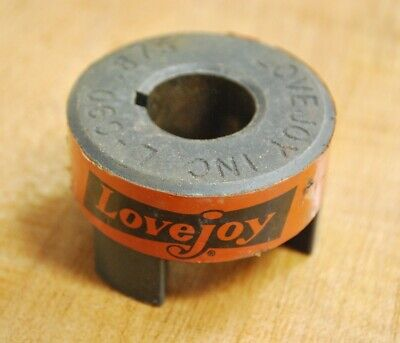 """LoveJoy L-090 .875 Coupling, 7/8"""" Bore - USED"""