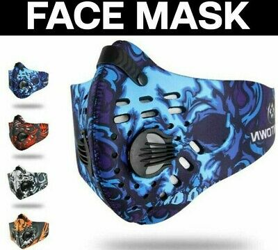 Cycling Half Face Men/Women Workout Mask For Running Sport Fitness Bicycle Bike