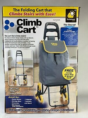 Climb Cart Stair Climbing Folding Utility Trolley as Seen on TV New
