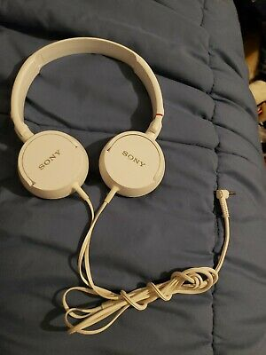 Sony MDR-ZX110 Stereo Over-Head Headphone Extra Bass - White
