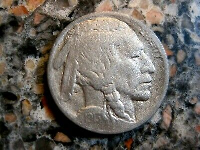 1913D Ty2  BUFFALO NICKEL VF Details RB3599a 55c Ship.FREE SHIP on 3 or+lots