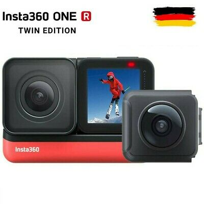 Insta360 ONE R Twin Edition 360° Dual Objektiv Action Kamera 4K Touch Screen