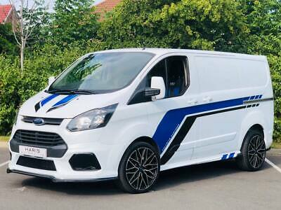Ford Transit Custom modified rs style front bumper bodykit  2012-2017