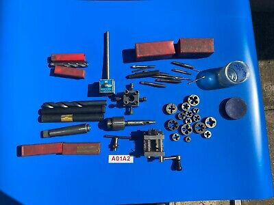Joblot of various engineering tools as picture