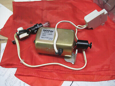 Brother VX 780 Sewing Machine  Motor Light On/Off Switch F2