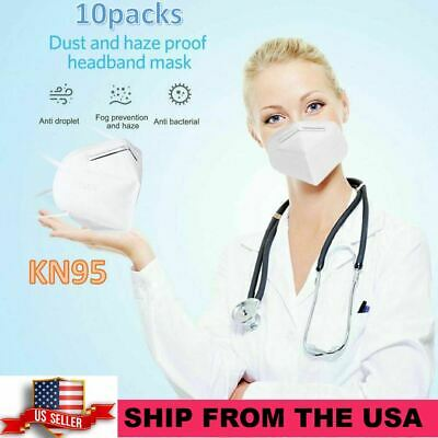 10x packs FDA Approved Facial Respirator Protection - Get yours it in 2 days