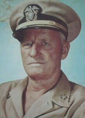 Admiral Chester Nimitz World War II U.S Naval Commander Signed Autograph