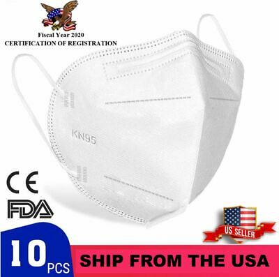 10x packs FDA Approved Facial Respirator Protection - Get yours in 2 days