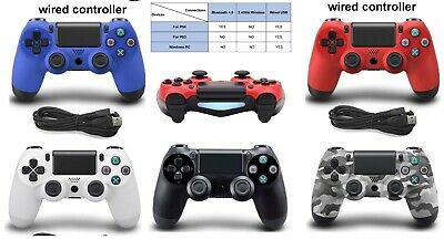 gamepad Bluetooth Wireless/Wired Joystick PS4 Playstation Dualshock 4 - ps3
