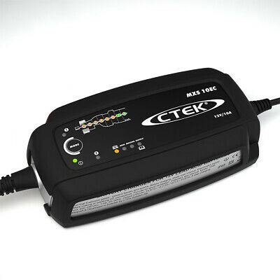 CTEK Mxs 10Ec 12V 10A Battery Charger & Support High Quality New