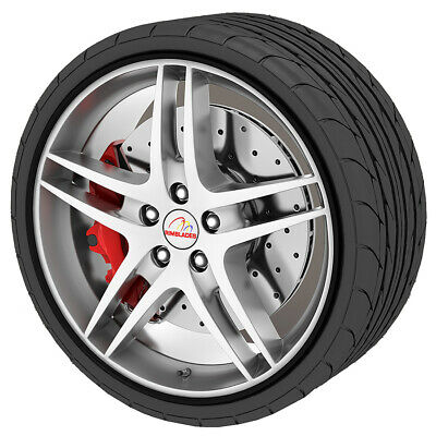 Rimblades Alloy Wheel Protector Black Easy To Install High Quality New