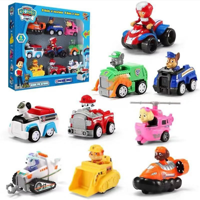 Paw Patrol Dogs Rescue Set Puppy Patrol Toys Cars