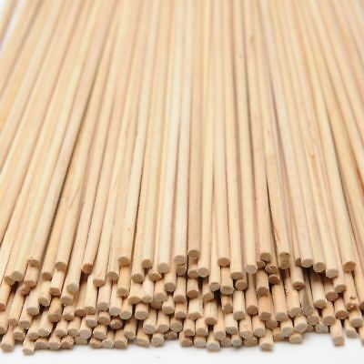 Wooden Craft Sticks Dowling Art Stems 100 Round Wood Pieces Kids Construction