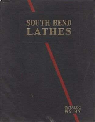 South Bend Lathes Instruction Operators Maint Manual Catalog 97 on CD 76 Pages