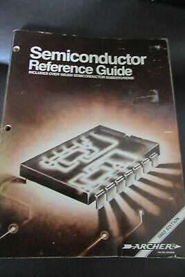 Semiconductor Reference Guide Radio Shack Archer 1983 Edition Cat.No.276-4006