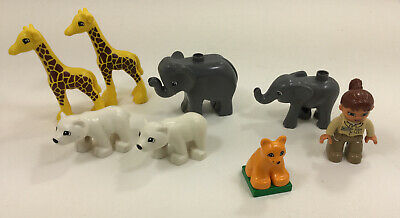 Lion Panda Lego Duplo 6157 Select Your Part  Zoo Animals Elephant White Tiger