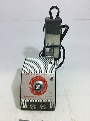 American Beauty 105 A3 Soldering Station Hot Tweezer Wire stripping Tested USA