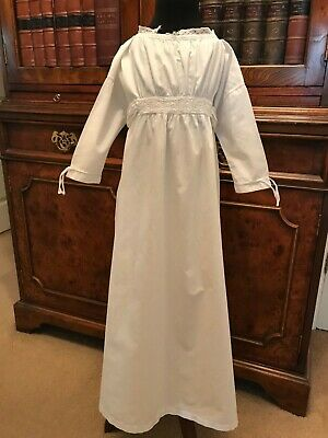 Vintage Antique White Baby Nightgown Nightdress