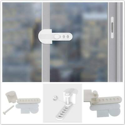 Children Sliding Door Window Locks Safety Protection Window Anti-falling Lock WS