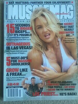 Musclemag Magazine, July 2002