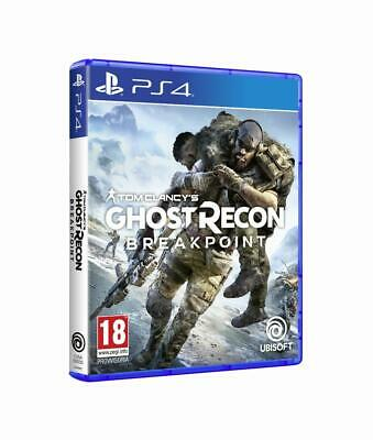 Ubisoft Ghost Recon Breakpoint, PS4 videogioco PlayStation 4 Basic Inglese, ITA