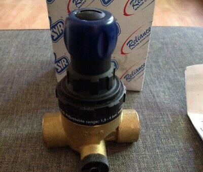 "Pressure Reducing Valve 1/2"" Fbsp Reliance 312 Compact Prv, New Boxed"