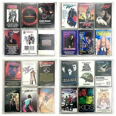 BUILD UR OWN Cassette Lot - TV, Film & Movie Soundtracks - Rare Titles Included!