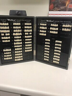 Vintage Trubyte Bioblend Anterior Mould Guide Tooth Display