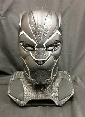 Marvel Camino Black Panther Life-Size Bluetooth Speaker with Projector * RARE! *
