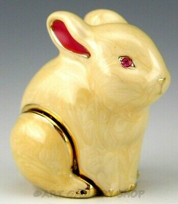 Estee Lauder Solid Perfume Compact Knowing BUNNY RABBIT Unused No Box