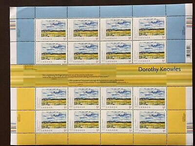 Canada Stamp Sheet - 2006 51c ART CANADA: DOROTHY KNOWLES Pane of 16 + gutters
