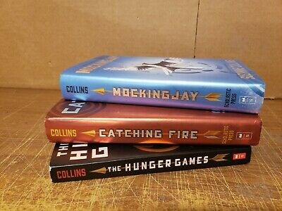 The Hunger Games Book Set by Suzanne Collins Catching Fire MockingJay *TRILOGY*